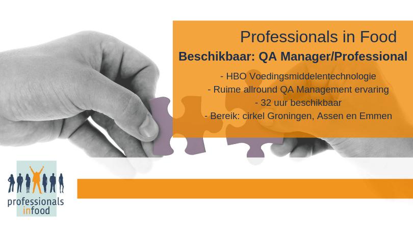 Aanbod Qa Professional Noord Oost Nederland