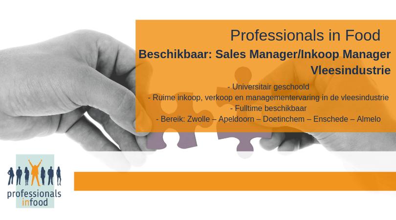 Aanbod Kandidaat Sales Inkoop Manager