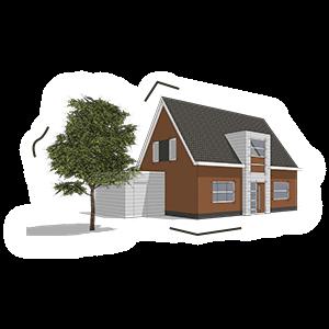 Huis Bouwtekening