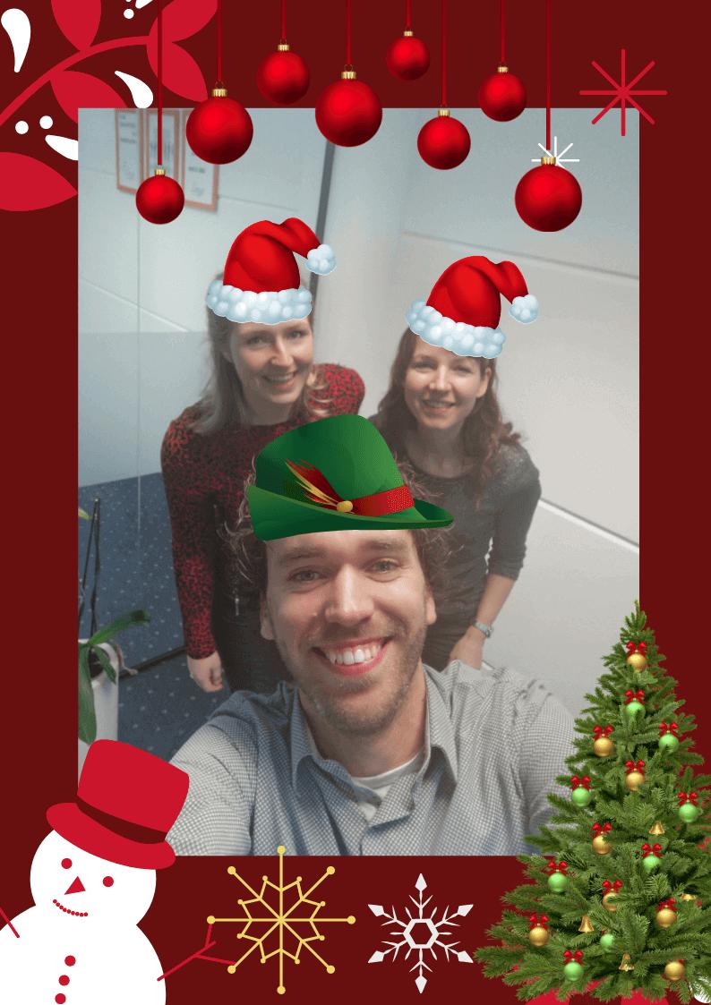 Kerstfoto Team Zwolle