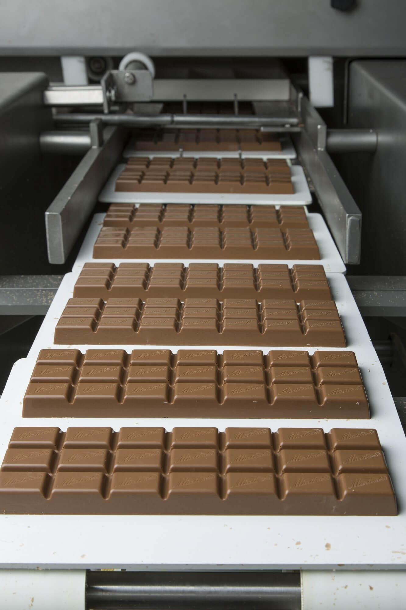Productielijn Chocoladerepen Martinez