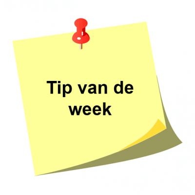 Tip Van De Week 2